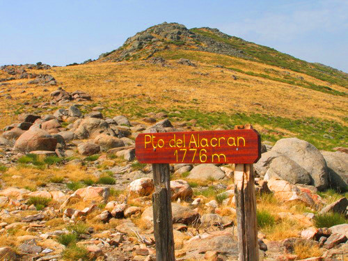 Camino del Puerto del Alacrán
